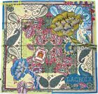 CHRISTIAN LACROIX coats of Arms LONDON BIG BEN print silk scarf NWT Authentic!