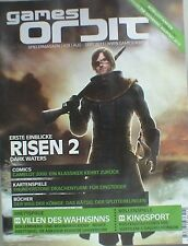 GAMES ORBIT Spielermagazin Nr 28 August Sept 11 Risen 2