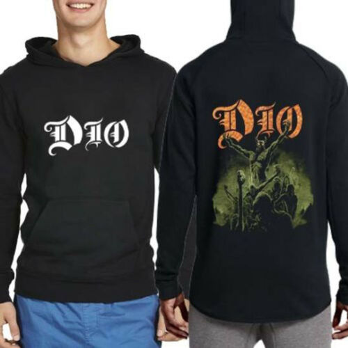 Band Sleeve Metal New Hoodie Rock Pullover Long Men's Dio SZcvqWS