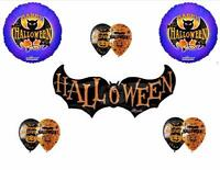 Halloween Bat Balloons Decoration Supplies Party Dance Trick Or Treat Spooky