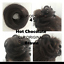 UK-Synthetic-Straight-Hair-Scrunchie-Elastic-Wrap-around-Hair-Bun-Extension thumbnail 4