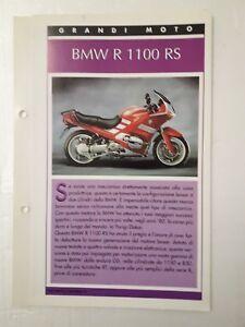 Scheda Tecnica Top Moto Grandi Moto Bmw R 1100 Rs Ebay