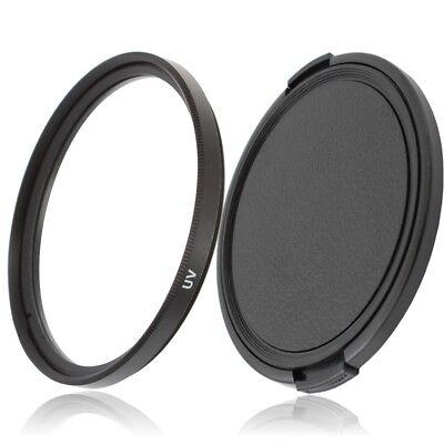 58mm UV Filter Schutzfilter /& Objektivdeckel für 58mm Einschraubanschluss