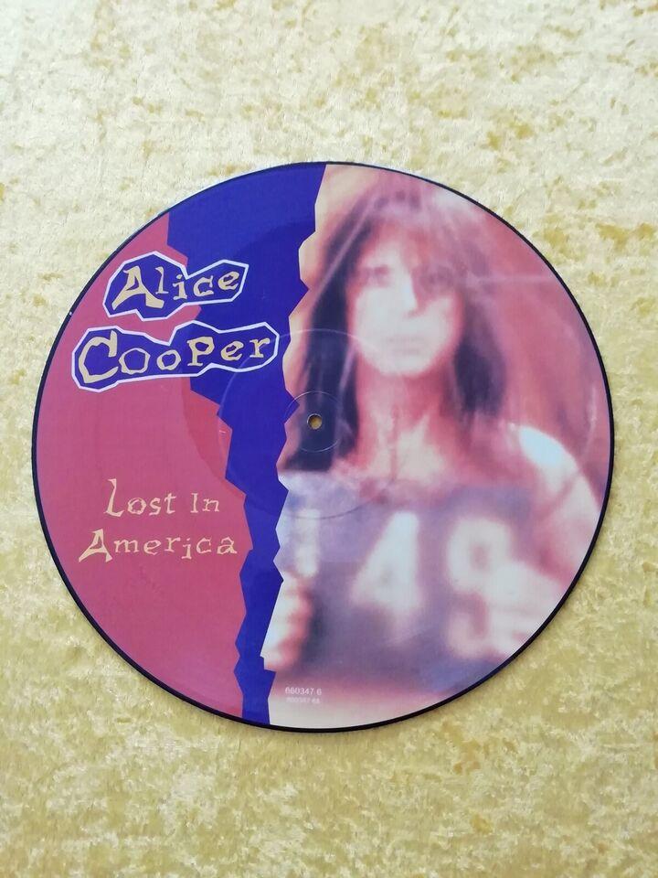 """Maxi-single 12"""", ALICE COOPER, LOST IN AMERICA"""