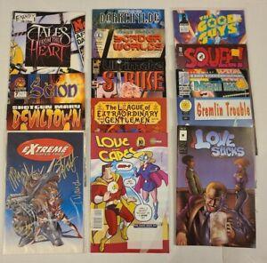 Lot Of 14 Indie Comic Books (LotA)