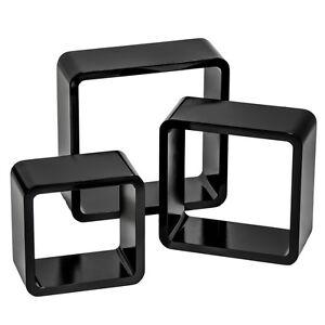Lot-de-3-etageres-cubes-murales-bibliotheque-salon-lounge-CD-livres-retro-noir