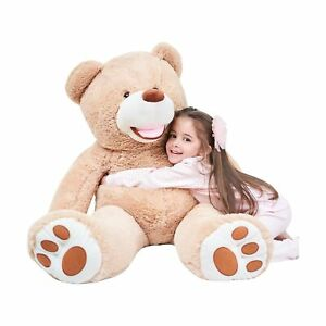 IKASA Giant Teddy Bear Plush Toy Stuffed Animals (Brown, 39 inches) Brown