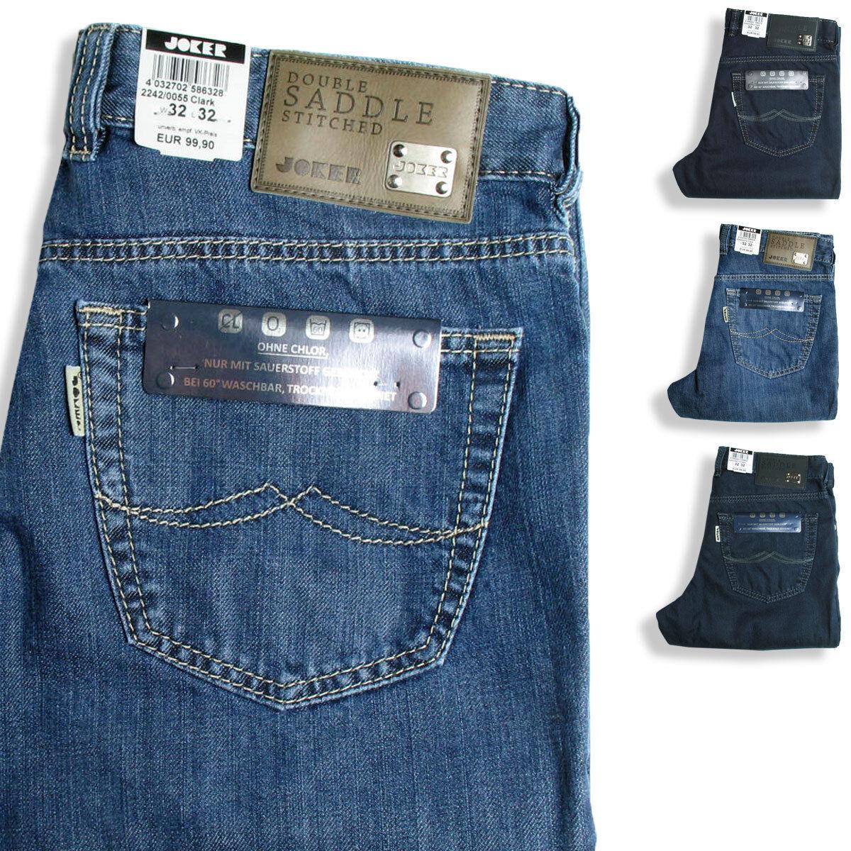 Joker Men's Jeans Clark Colour Selection bluee Denim 2242 2243 55 243 212 310