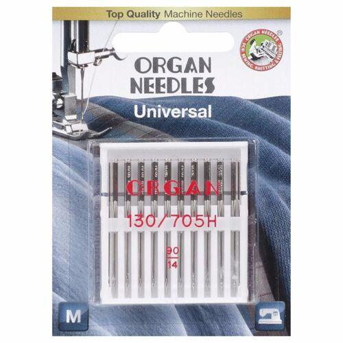 Organ Universal 90//System 130//705H 10 Nadeln für mittleres Garn  #12209