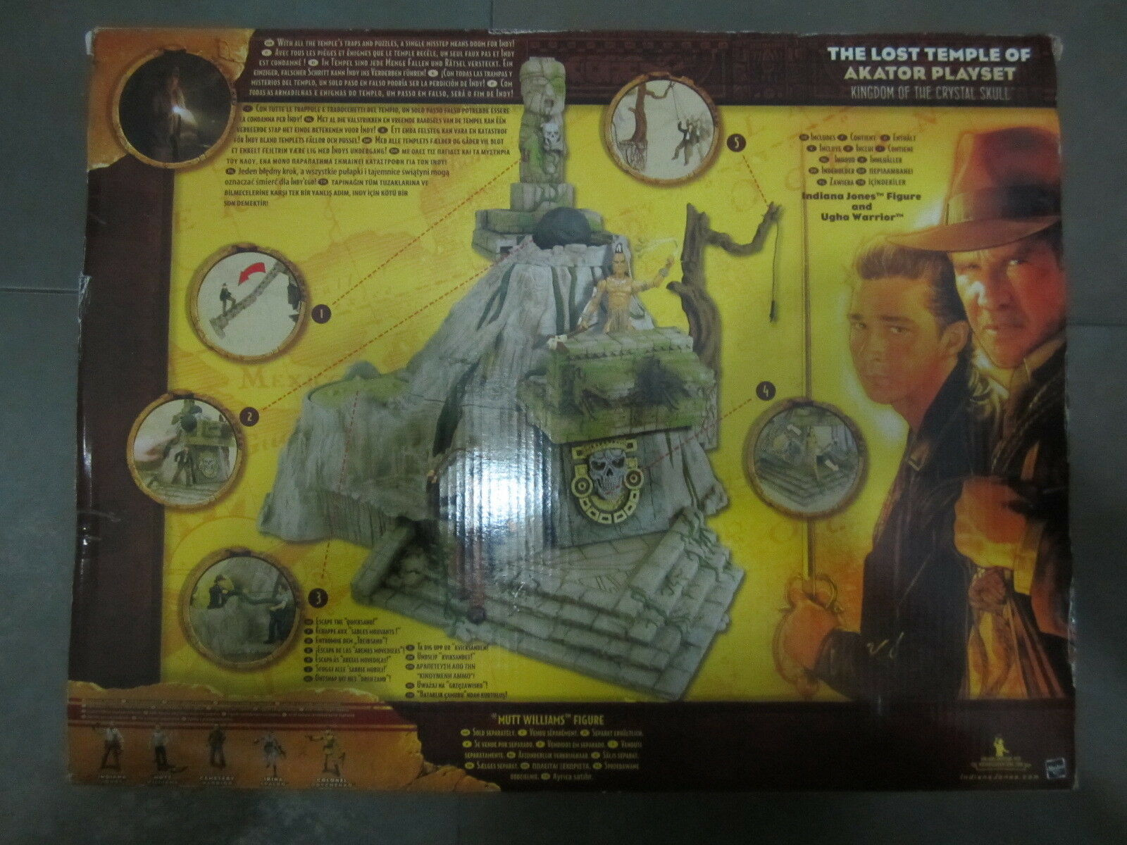 INDIANA JONES  The The The Kingdom of the Crystal Skull The Lost Temple of Akator. NUEVO 1aef0e