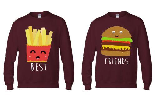 Best Fries Friends Burger Cool Men Women Unisex Top Hoodie Sweatshirt 1792-93