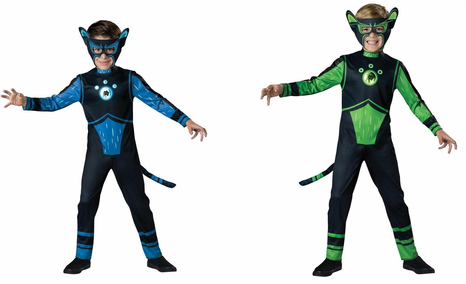Wild .Kratts Creature Power Suit Costume Kids Halloween Fancy Dress Party 201 bC