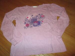 Tee-shirt-Rose-a-motif-ML-T8ans-marque-Influx-en-TBE