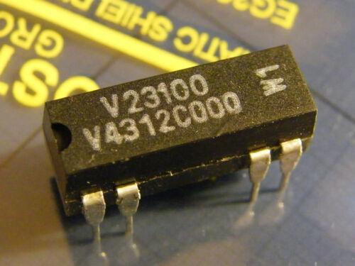 1x Wechsler 28V//0,25A 3W 2x V23100-V4312-C000 Reed Relay 12V Spule