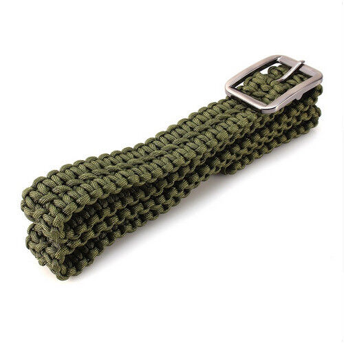Hand-made Mil Spec Core Strand Survival Parachute Cord Paracord Survival Kit
