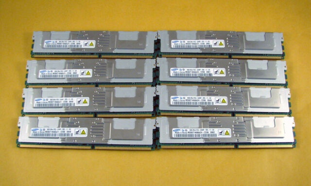 64GB 8x8GB DDR2 Fully Buffered PC2-5300F Memory RAM Apple MAC PRO A1186