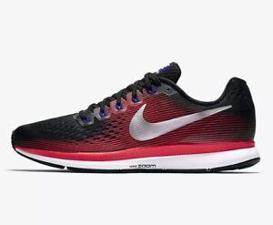Dettagli su Nike Air Zoom Pegasus 34 Sneaker Uomo in esecuzione NUOVO PREZZO CONSIGLIATO £ 110.00 box non ha coperchio mostra il titolo originale