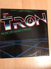 Wendy Carlos Tron OST LP NM SM37782 1982 VG++ Rare Walt Disney Productions