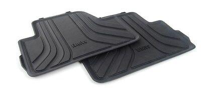 Mini Genuine todo el tiempo Tapetes Trasero Negro esencial para F56 51472354164