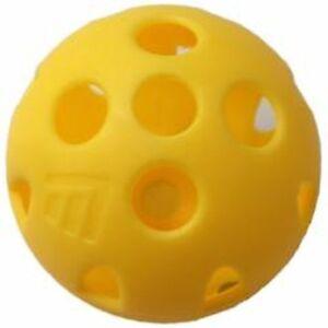 Masters-Airflow-XP-Balle-d-039-entrainement-balles-Jaune-6-balles
