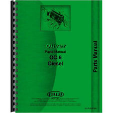 Parts Manual For Oliver Oc 6 Crawler