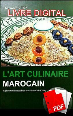 Ebook L Art Culinaire Marocain 214 Recettes Thermomix