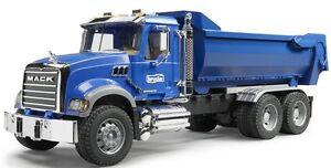 Bruder Toys Mack Granite Halfpipe Dump Truck Kids Play