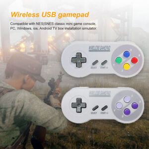 Wireless-USB-SNES-Controller-Gamepad-amp-Receiver-for-PC-MAC-Raspberry-Lot-1-2