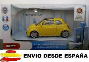 FIAT 500 ABARTH COCHE DE COLECCIÓN A ESCALA 1:43 LICENCIA FIAT