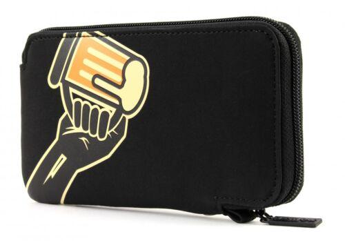 oxmox New Cryptan Mobile Wallet Geldbörse Cheers Schwarz Gelb Neu