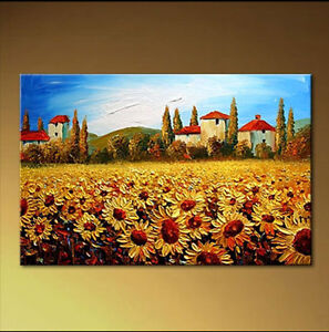 Modern Abstract Art Painted Canvas Wall DECOR Oil Painting ...