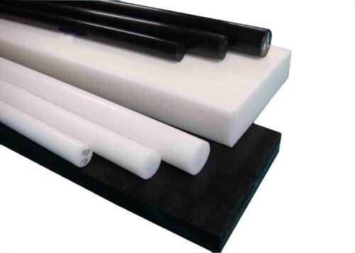 POM Rund stab Rundstäbe 1 Meter schwarz weiß natur Modellbau Kunststoff Stange