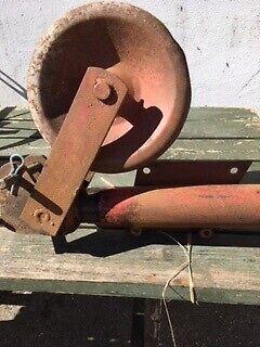 støttehjul evt. til gummivogn