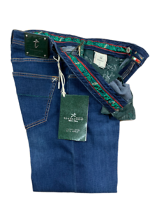 Jeans-Tramarossa-Modello-LEONARDO-ZIP-Denim-SOFT-TOUCH-Uomo-Listino-325