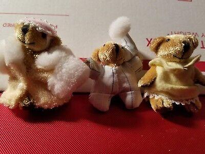 Other Mattel Dolls Spirited Mattel Furryville 3 Bears Bearyweathers At Bedtime Doll Set