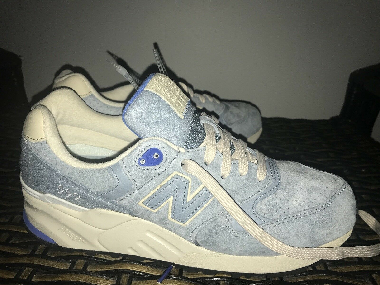 New Balance 999 bluee Cyclone  Wooly Mammoth  ELITE EDITION Men's Size 8.5
