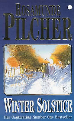 """AS NEW"" Winter Solstice, Pilcher, Rosamunde, Book"