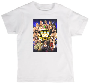Image Is Loading Childrens Tee Shirt Featuring Wwe Legends Quality New