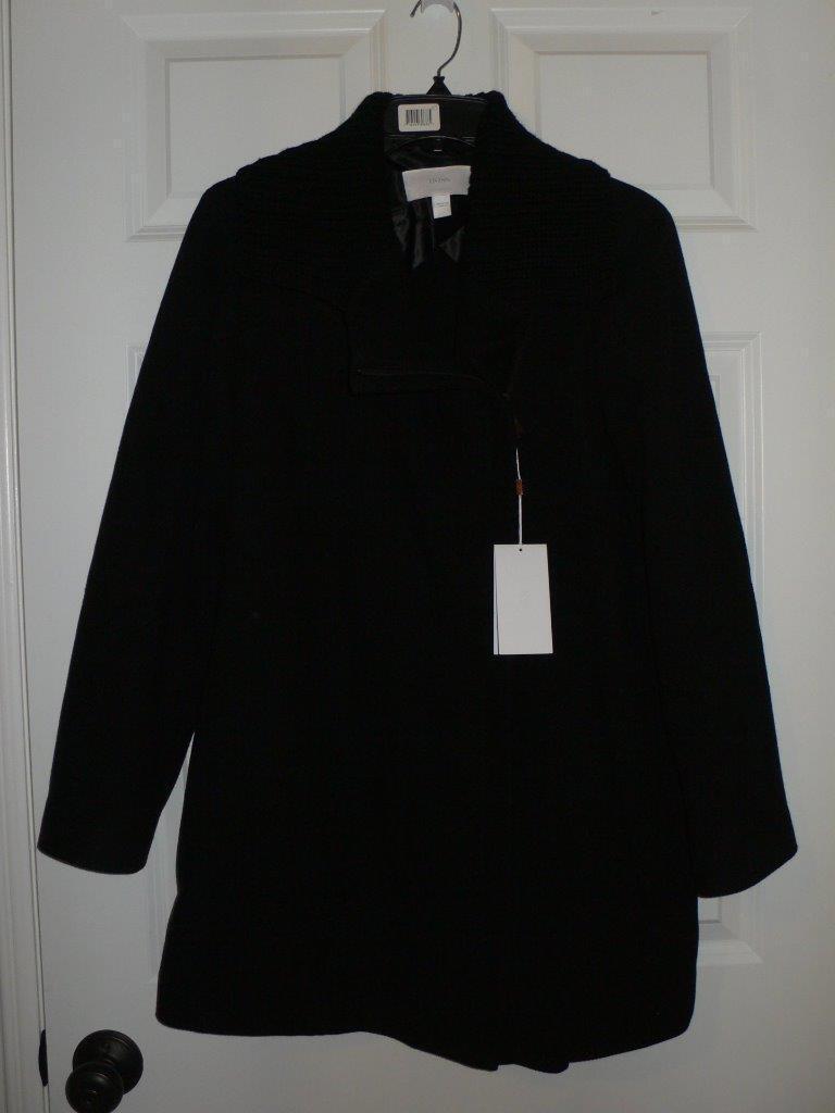 Boss Hugo Boss  Negro Chaqueta de Abrigo de lana Kamine  625 Nuevo con etiquetas cuello de punto 4  100% a estrenar con calidad original.