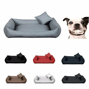 Dog Bite Dog Sofa Lit de bébé en cuir artificiel Gesteppt Lux Plus Xs-3xl