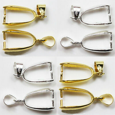 Wholesale 20pcs Clip On Earring Findings Earwire Jewelry Making Gold Plated