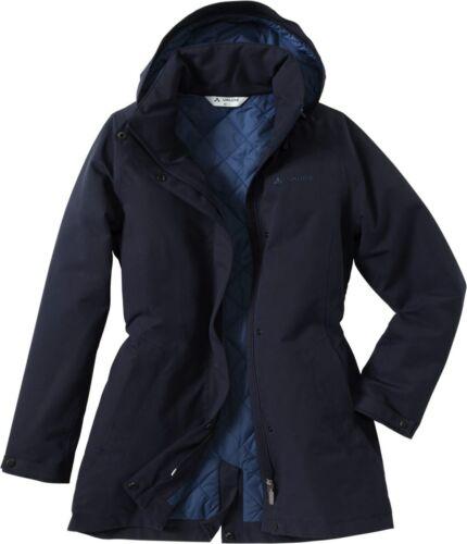 VauDe Damen Wander Freizeit Jacke Posino Coat Winter Mantel eclipse dunkelblau