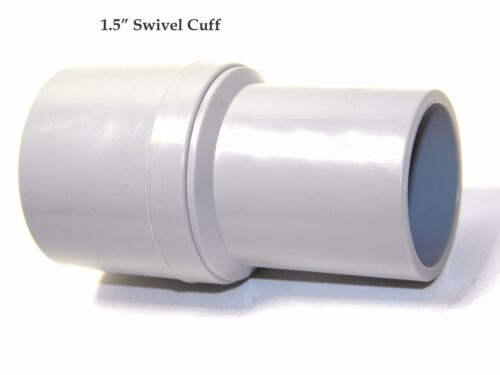 "Carpet Cleaning Wand Hose 1.5/"" SWIVEL CUFF"
