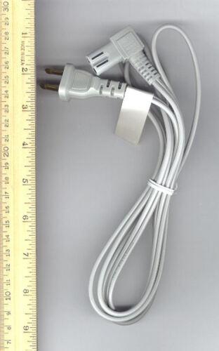 LOT OF 100 New E62405SP 6.0ft Long Flint Gray 2 Prong Power Cord 8120-8419