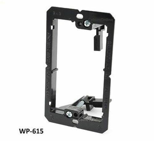 WP-615 1-Gang Low Voltage Mounting Bracket for Walls and Wall Plates