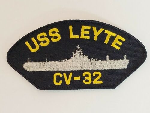 Details about  /USS Leyte CV-32 US Navy Ship Patch Aircraft Carrier NEW Embroidered Style 1