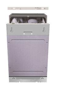Image Is Loading PKM DW9 7FI Geschirrspuler 45cm  Vollintegriert Spulmaschine Einbau