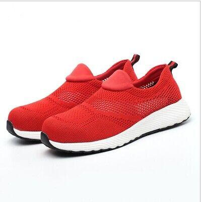 Ladies Womens Ultra Lightweight Steel Toe Cap Work Safety Shoes Trainers Boots Hitze Und Durst Lindern.