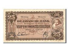 [#83099] Netherlands Indies, 25 Gulden, 1926, KM #71a, EF(40-45), OD