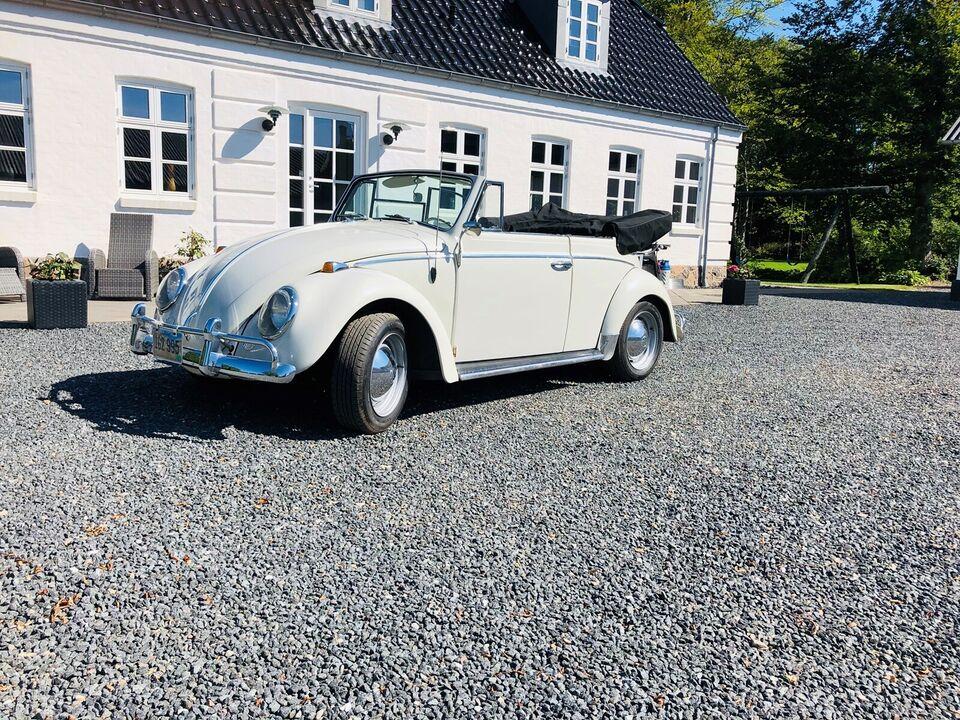 VW 1200, 1,2 Cabriolet, Benzin